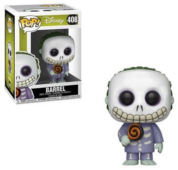 Nightmare Before Christmas Pop! Barrel