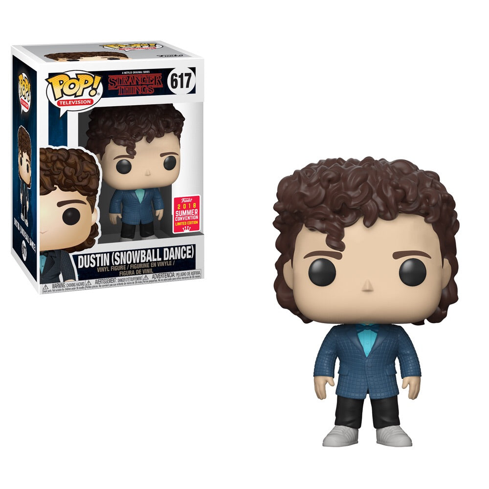 POP! TV: Stranger Things - Dustin (Snowball Dance) - Summer Convention 2018 Exclusive