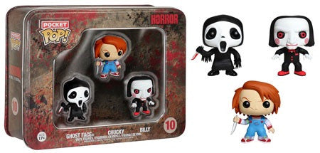 Pocket Pop! Horror Ghostface Billy Chucky 3-pack