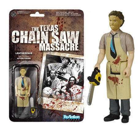 "Horror 3.75"" ReAction Retro Action Figure - Leatherface"