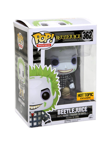 FUNKO Pop! MYSTERY HORROR BLIND BOX VINYL FIGURE EXCLUSIVE (Beetlejuice)