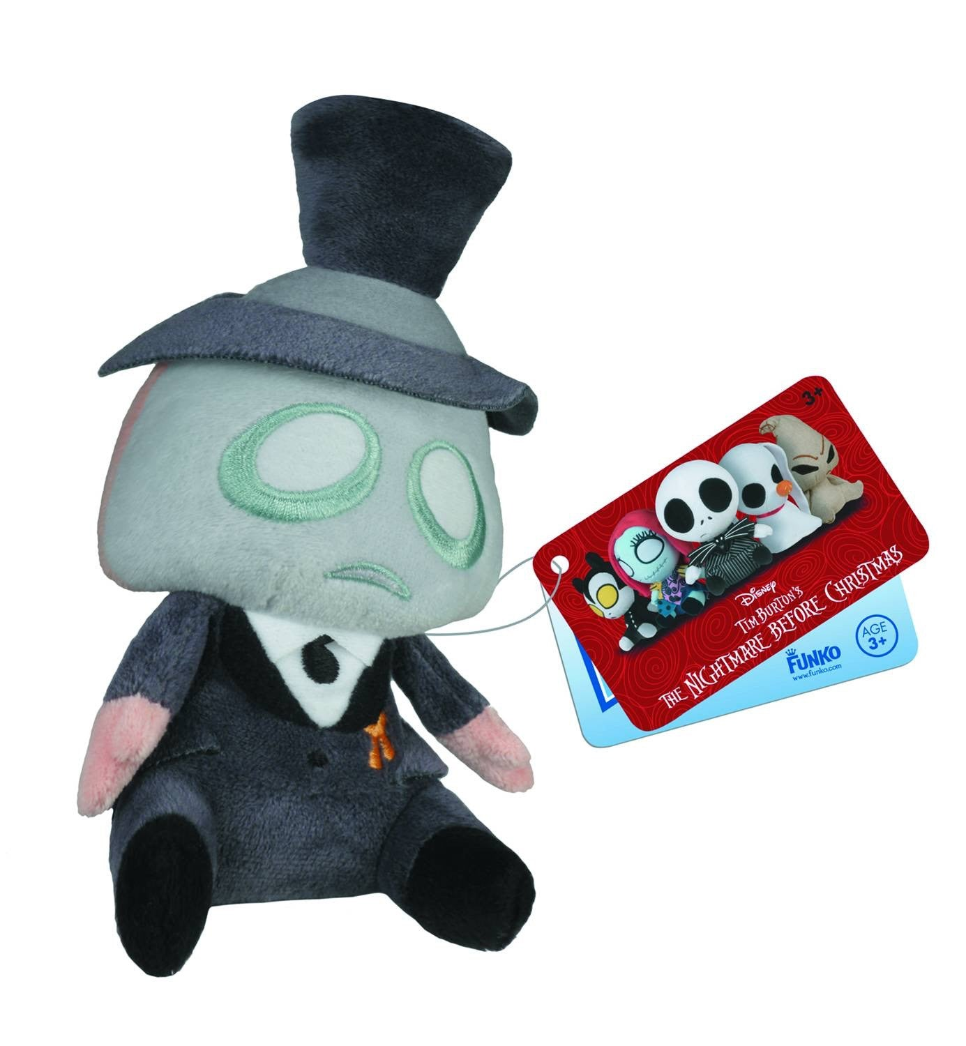 Mopeez Nightmare before Xmas The Mayor Plush