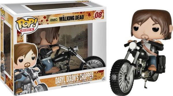 Pop! Rides The Walking Dead Daryl and Chopper