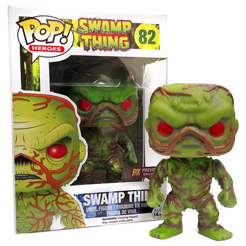 Pop! Exclusive Swamp Thing