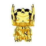 Marvel MS 10 Set of 10 Gold Chrome Pop! Vinyl Figure