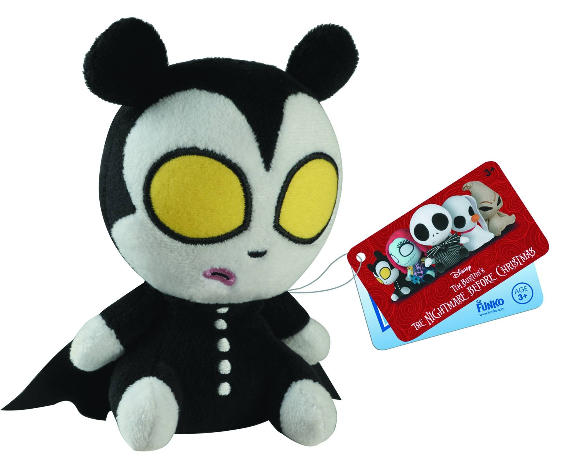 Mopeez Nightmare before Xmas Vampire Teddy Plush