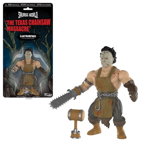 Funko Savage World Leatherface