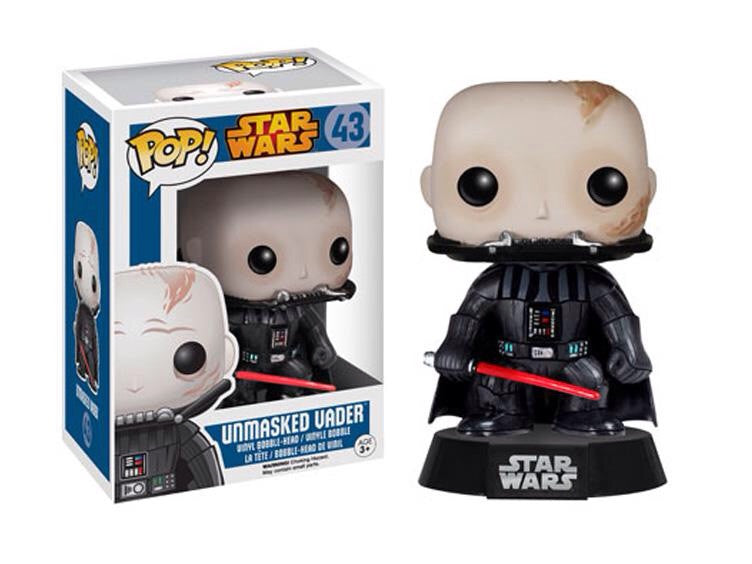 Pop! Movies: Star Wars Unmasked Darth Vader