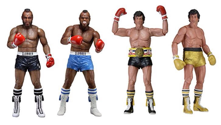 NECA Rocky Series 1 Set of 4