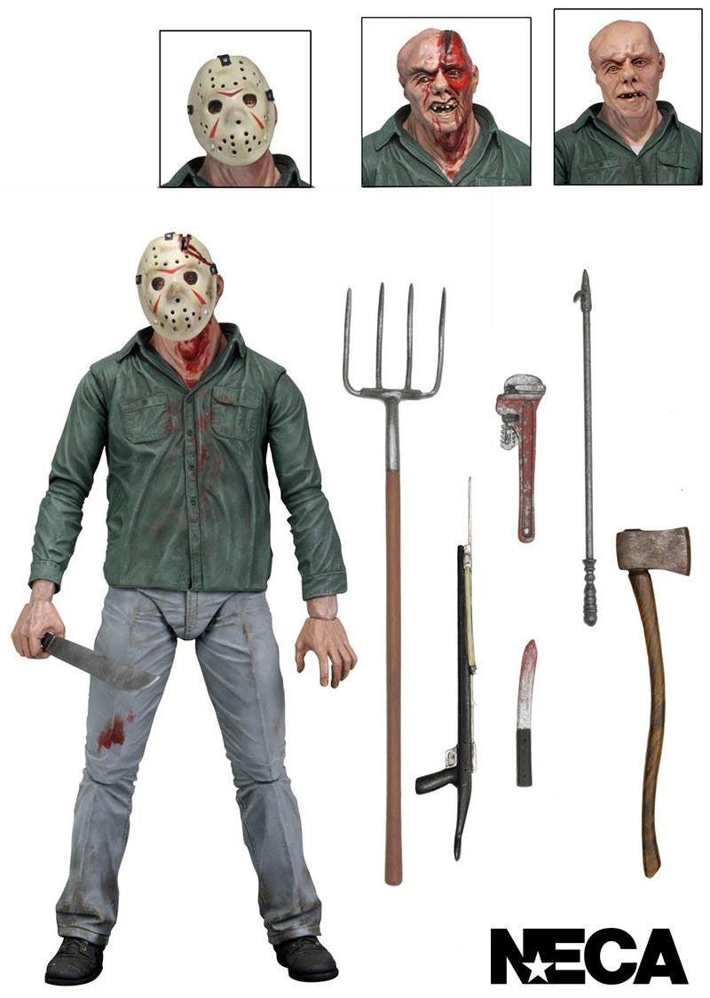 "Friday The 13th III 7"" Ultimate Action Figure - Jason"