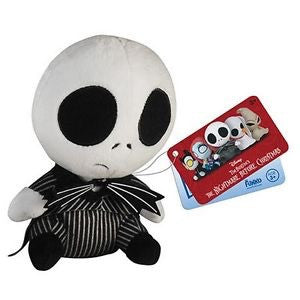 Mopeez Nightmare before Xmas Jack Skellington Plush