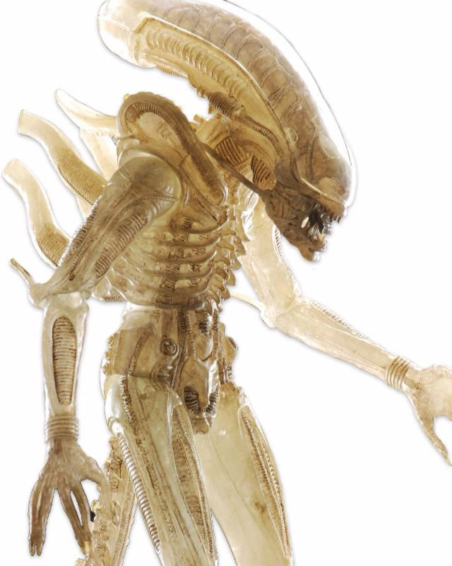 Alien 1/4 Scale Translucent Prototype Suit Concept Figure
