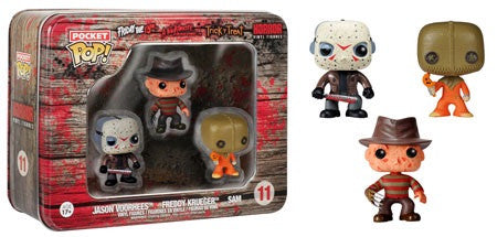 Pocket Pop! Horror Freddy Jason Sam  3-pack
