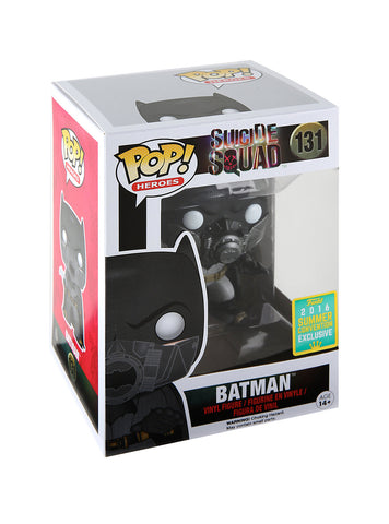 FUNKO DC COMICS SUICIDE SQUAD POP! HEROES BATMAN (UNDERWATER) VINYL FIGURE 2016 SUMMER CONVENTION EXCLUSIVE