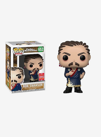Enlarge FUNKO PARKS AND RECREATION POP! TELEVISION RON SWANSON VINYL FIGURE 2018 SUMMER CONVENTION EXCLUSIVE