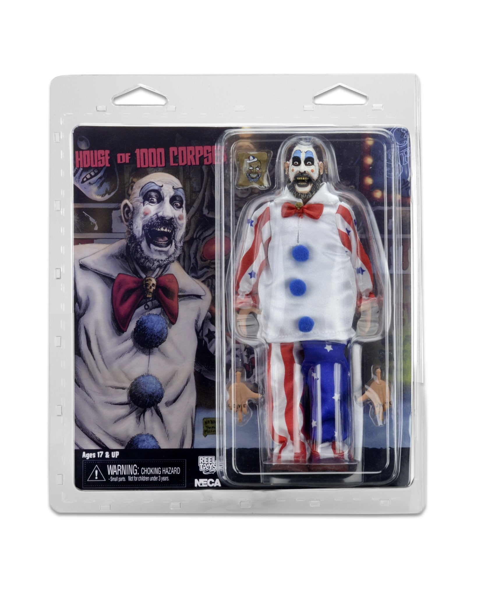 "House of 1000 Corpses - 8"" Clothed Figure - Captain Spaulding"