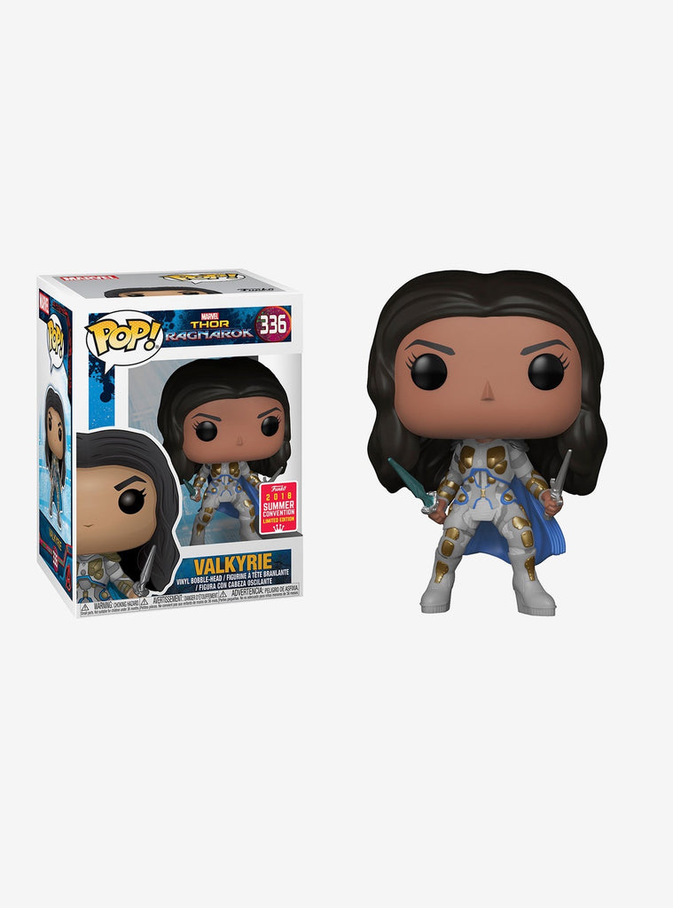 FUNKO MARVEL THOR: RAGNAROK POP! VALKYRIE VINYL FIGURE 2018 SUMMER CONVENTION EXCLUSIVE