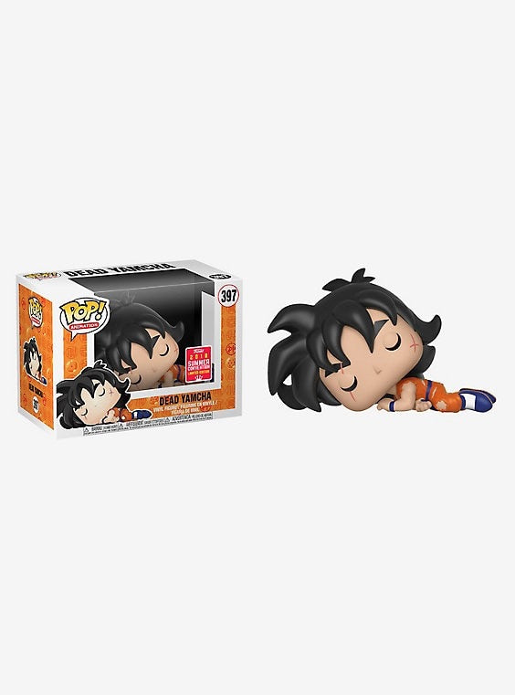 FUNKO DRAGON BALL Z POP! ANIMATION DEAD YAMCHA VINYL FIGURE 2018 SUMMER CONVENTION EXCLUSIVE