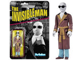 "Universal Monsters 3.75"" ReAction Retro Action Figure - Invisible Man"