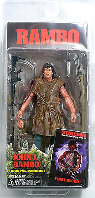 Neca Rambo First Blood Series 2 Action Figure Survival Rambo