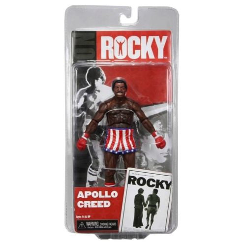 NECA Rocky 7 Inch Series 1 Action Figure Apollo Creed Post Fight