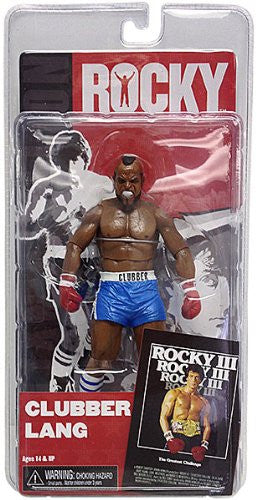 Rocky 3 Clubber Lang with Blue Shorts 7 Inch Action Figure