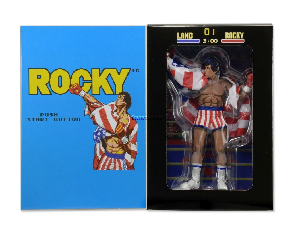 "Rocky - Classic Video Games Appearance - 7"" Action Figure"