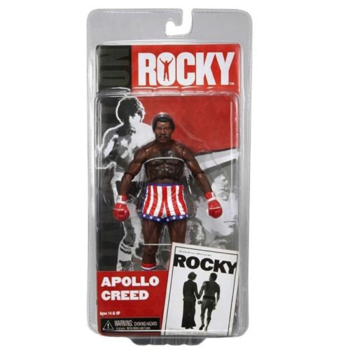 NECA Rocky 7 Inch Series 1 Action Figure Apollo Creed Pre Fight