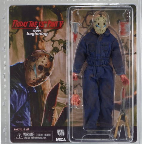 "NECA 8"" Clothed Figure Friday The 13th Part 5 Jason (ROY)"