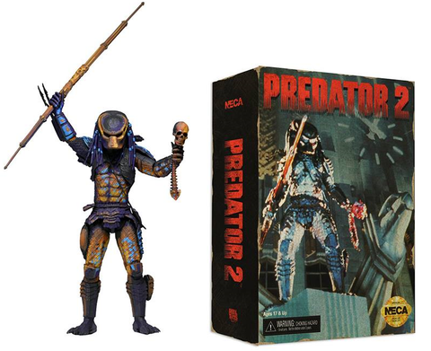 "7"" Scale Predator 2 Action Figure - City Hunter (Video Game Appearance)"