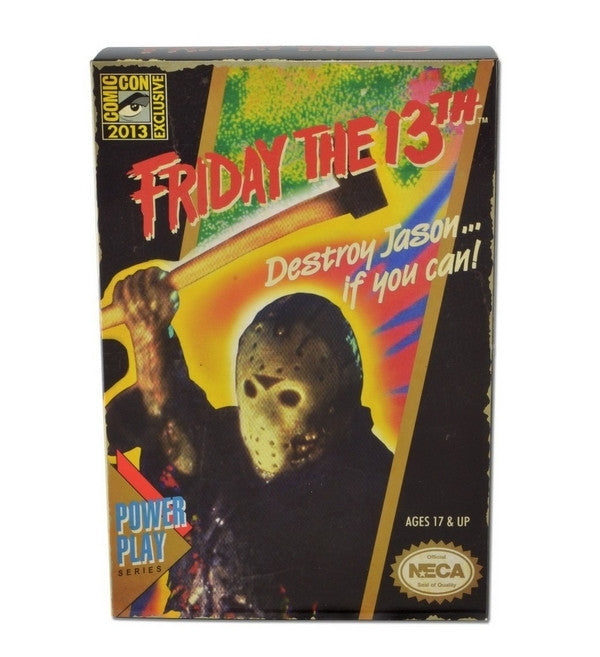 Friday The 13th 2013 SDCC Exclusive Jason Video Game Glow-In-The