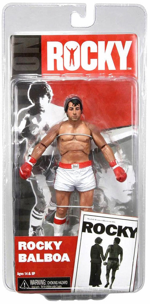 NECA Rocky 7 Inch Series 1 Action Figure Rocky Balboa Pre Fight