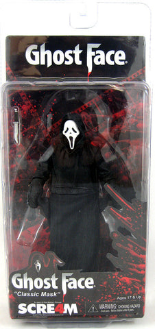 Scream 4 Movie: 6 Inch Action Figure - Classic Ghostface