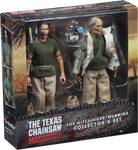 TEXAS CHAINSAW MASSACRE - NUBBINS SAWYER ACTION FIGURE 2-PACK