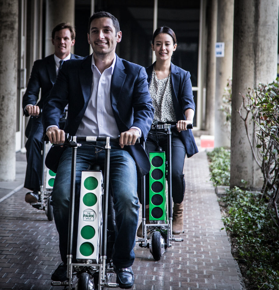 bike alternative URB-E foldable electric scooter for business people