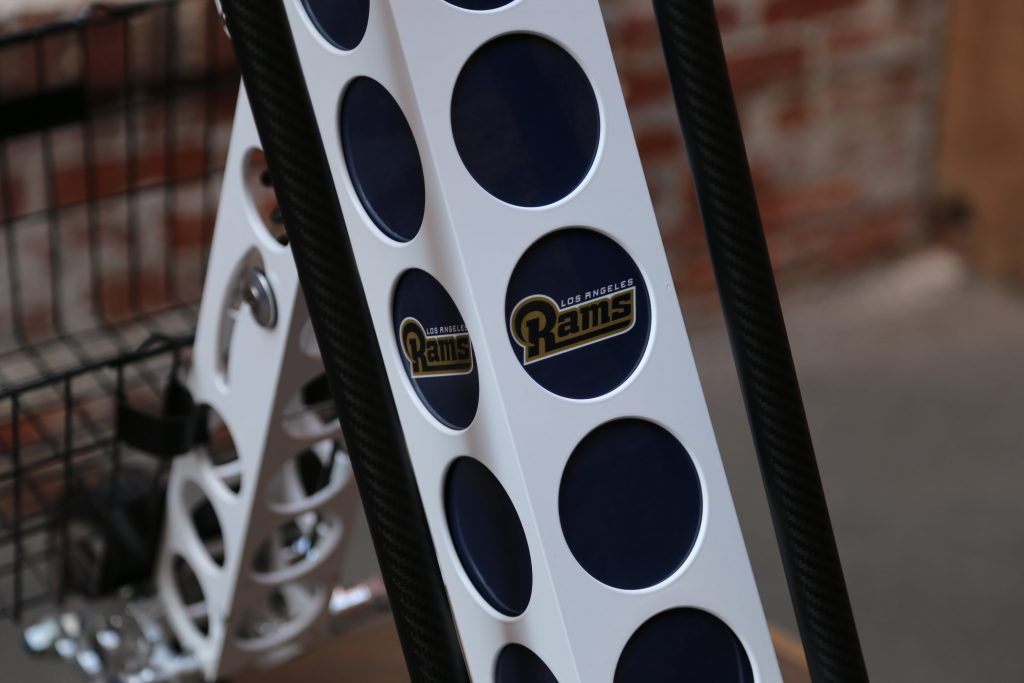 la rams parking urb-e electric scooter