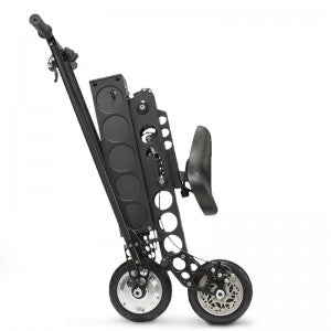 URB-E Black Label Electric Scooter - Folded View