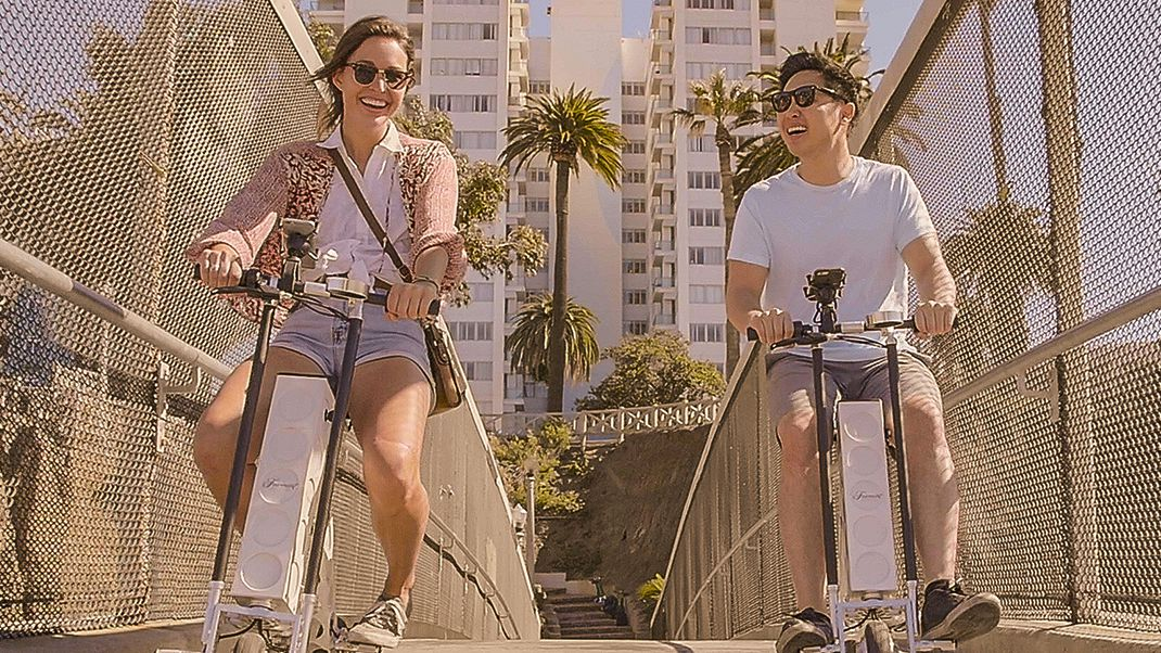 urb-e foldable electric scooters made in the USA