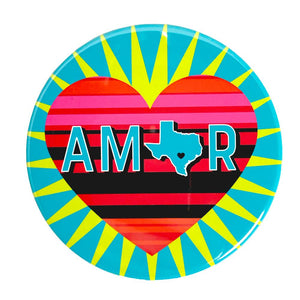 Amor Texas Magnet by BarbacoApparel