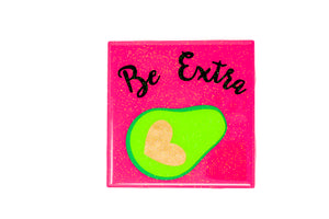 Handmade Be Extra Avocado Coaster by Arte Mia Crafts