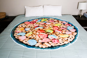Lucky Charms Charmed Cereal Blanket