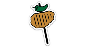 Chicken on a Stick Sticker San Antonio Sticker SA Flavor