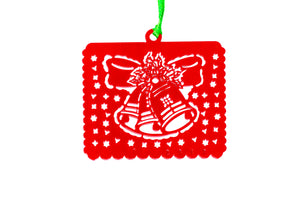 Christmas Ornament Christmas Papel Picado Bells 2019 SA Flavor
