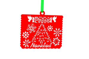 Christmas Ornament Papel Picados