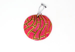Handmade Concha Christmas Ornament by Arte Mia Crafts