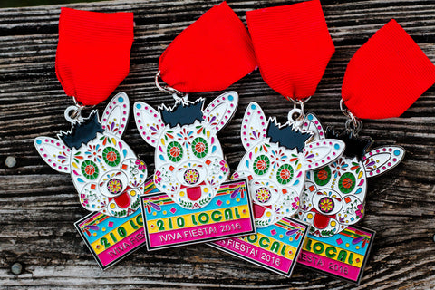 210 Local Coyote Fiesta Medal for 2016