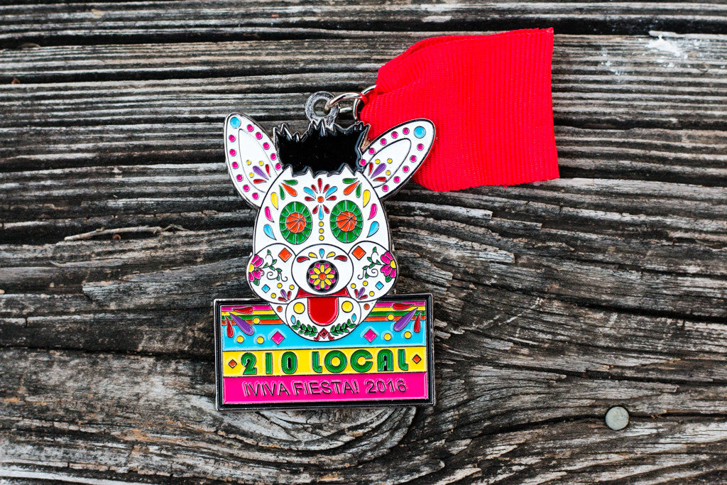 2016 Coyote Fiesta Medal By 210 Local