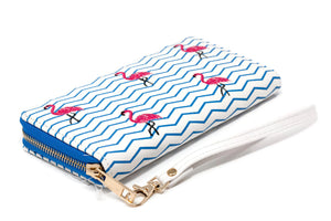 Flamingo Wallet Beach Stripes SA Flavor-Diagonal