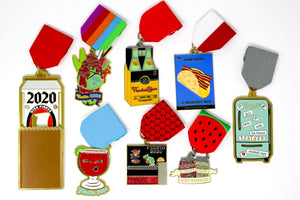SA Flavor 2020 Food Fiesta Medal JANUARY Eight Pack