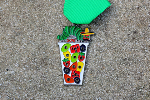 Fruit Cup Caterpillar Fiesta Medal 2018 by Gavin Heath
